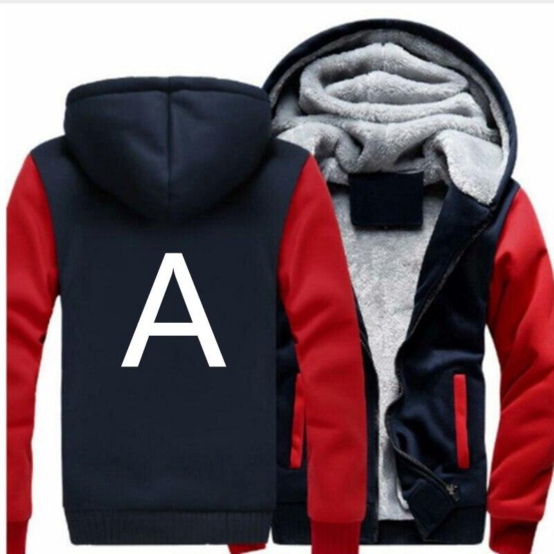 Nueva Marca chándal de los hombres espesar sudaderas con capucha Termal para hombres ropa deportiva de lana caliente gruesa Sudadera con capucha sudaderas ropa deportiva Jackes