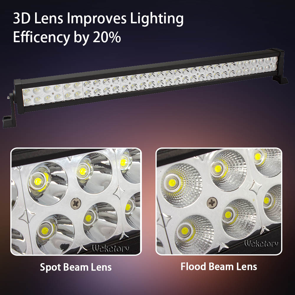 Weketory 32 Inch 180w Led Light Bar For Work Driving Boat Car Truck Aliexpresscom Buy 43 288w Cree Wiring Kit 4x4 Suv Atv Off Road Fog Lamp Spot Flood Beam With In From