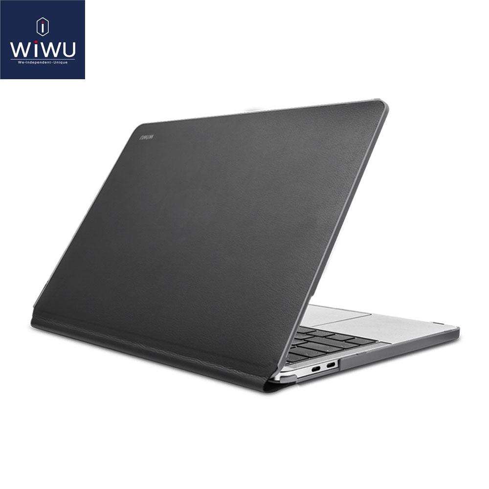 best service d0fd6 64689 US $17.99 28% OFF|WIWU Laptop Sleeve for MacBook Pro 13 Waterproof PU  Leather Hardshell Case for MacBook Pro 13 Inch A1706 A1708 Full  Protection-in ...