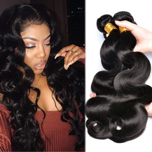 Brazilian Hair Weave Bundles Body Wave Bundles Hair Iwish 100% Human Hair Weave Bundles 1 3 4 10-28 inch Non Remy(China)