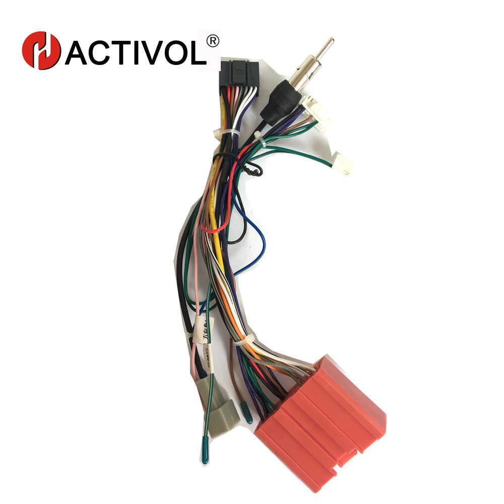 2 din Radio samochodowe ISO wtyczka zasilania Adapter kable w wiązce dla mazda 3 5 CX-5 ISO power uprząż dla samochodowy odtwarzacz dvd