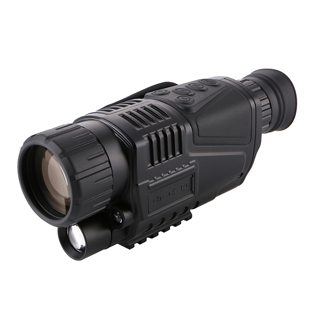 Eyebre Hunting Night Visions 5 x 40 Infrared Digital Telescope High Magnification Video Output Hunting Monocular 200m View