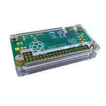 Raspberry Pi Zero Acrylic Case 3 colors Box Shell Transaperent black blue Acrylic Enclosure Box for RPI Zero