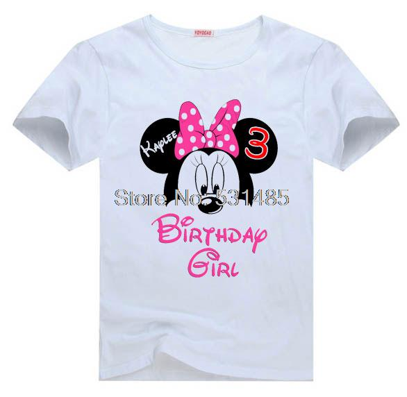 Popular personalized minnie mouse shirt buy cheap for Personalized t shirts for kids cheap