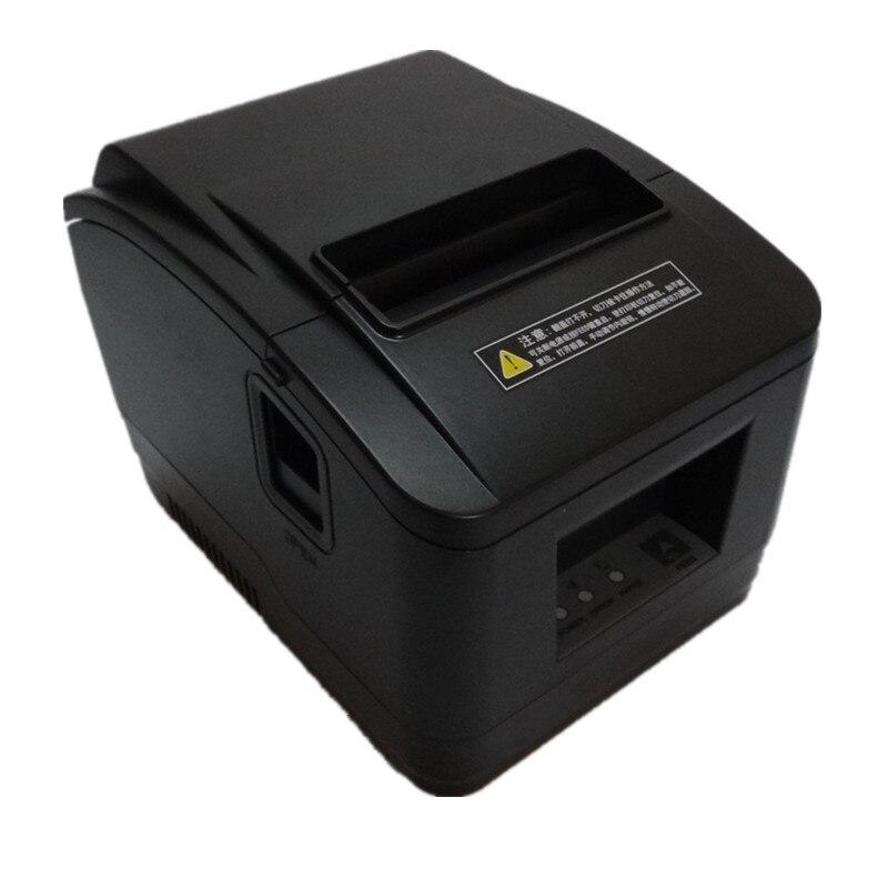 Оптовая продажа Новый бренд высокое качество pos-принтера 80 мм Тепловая чековый маленький Билет принтер штрих-кода автоматической резки при...