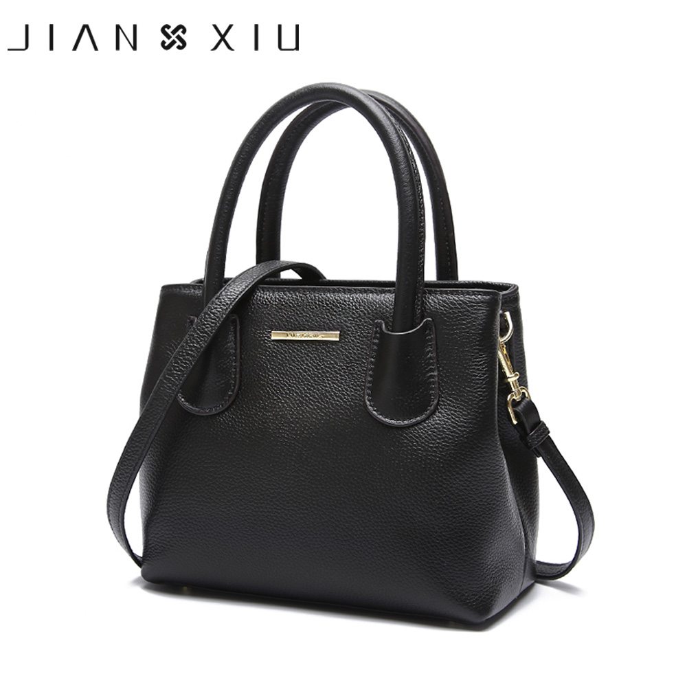 JIANXIU Brand Genuine Leather Bag Luxury Handbags Women Bags Designer Handbag 2019 Small Women Tote Female