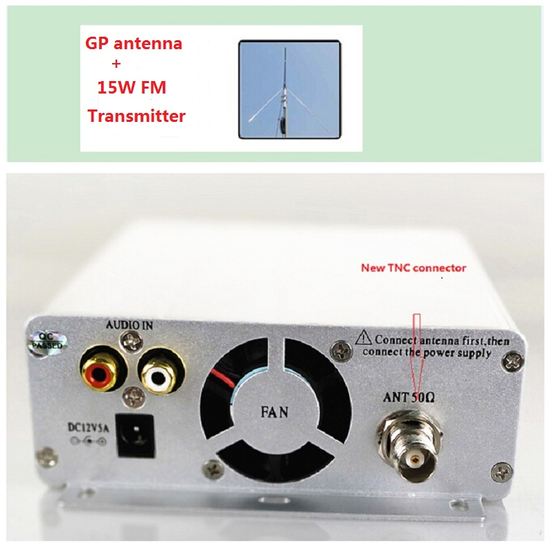 Radio & Tv Broadcast Equipments 15w/1.5w Fm Broadcast Transmitter St-15b Stereo Pll 3~10km Fm Radio Broadcast Station With 87mhz-108mhz-100khz Gp Antenna To Be Distributed All Over The World