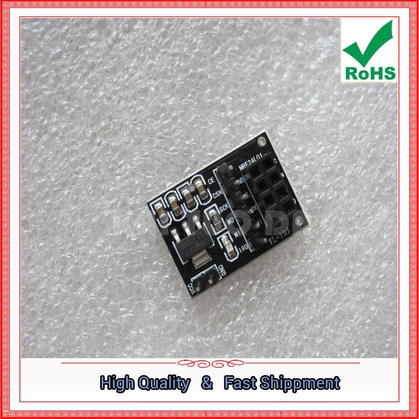 Free Shipping 5pcs wireless module adapter board supporting wireless module using intelligent car robot 8 pin (C4B6)