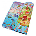 1.0CM Thicknss Baby Play Mats Double Side Sea World+Happy Farm Infant Crawling Carpets Gym Rugs Toddler Picnic Mats