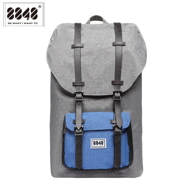 Big Backpack Men Travel Bag Laptop 20 6 L Large Capacity Knapsack Belt Decoration Free Shipping