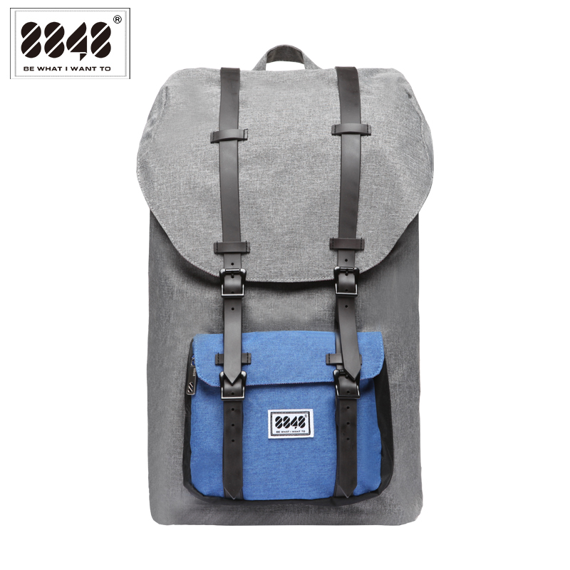 Big Backpack Men Travel Bag Laptop 20.6 L  Large Capacity  Knapsack Belt Decoration Free Shipping Guarantee Quality S15005-12 high quality authentic famous polo golf double clothing bag men travel golf shoes bag custom handbag large capacity45 26 34 cm