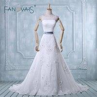 Batı Tarzı Düğün Elbise Sıcak Satış Real Photo Zarif Mahkemesi Tren Moda Zarif Gelinlik Artı Boyutu (ASA-022)