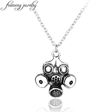 Popular Classic TV Series Dr Who Necklace Punk GAS Mask Pendant Necklace For Women Men Fashion Jewelry Accessories
