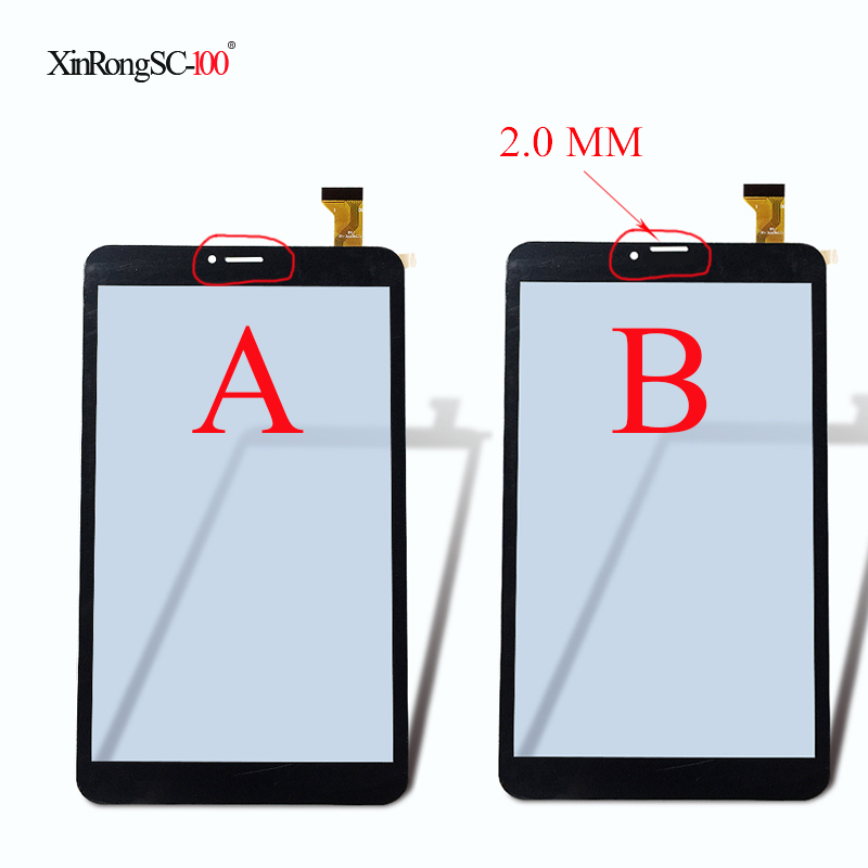 New Touch Screen For 8 inch DEXP Ursus P380 Touch ScreenTouch Panel Parts Sensor Touch Glass Digitizer zhiyusun for iq701 new 8 inch touch screen panel touch glass this is compatible touchsensor 124 5 173
