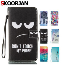 SKOORJAN Luxury PU Leather Case For Coque Huawei Y7 Case Flip 5.5 Inch Stand Wallet Cover For Fundas Huawei Y7 2017 Case Capa