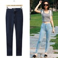 Womens Skinny Stretch Denim Jeans Trouser High Waist Long Pencil Pant S-XL New