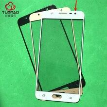 10 adet Yedek LCD Ön Dokunmatik Ekran Cam Dış Lens Samsung J7 Başbakan G610 G610M G610DS G610F G610DD G610Y on7 Başbakan