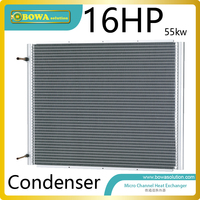 55KW Tandem Compressor Unit Condenser Without Fan