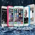 Надежный Стильный Силикона/Гель/Резина Водонепроницаемый Противоударный Пылезащитный Чехол Для iPhone 6 s 4.7 Дюйма
