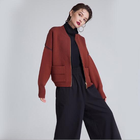 Mujeres Abrigos Chaqueta black Outwear 2018 Elegante Para Moda Rompevientos Las camel Apricot Suéter Streetwear Y Chaquetas Otoño EFqEBZp
