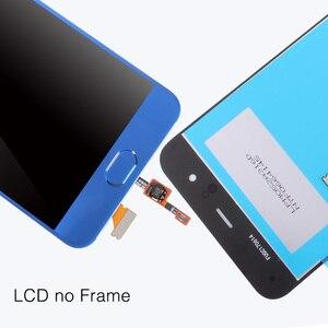 Image 4 - Cho Xiao Mi Mi 6 Màn Hình LCD + Khung + Cảm Biến Vân Tay Cho Tiểu Mi Mi 6 Màn Hình 10 Cảm Ứng màn Hình Thay Thế Chi Tiết Sửa Chữa