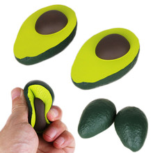 Squishies Simulated Avocado Slow Rising Cream Scented Squeeze Stress Relief Toys squishy Cartoon squish toys squeeze Novelty цена и фото