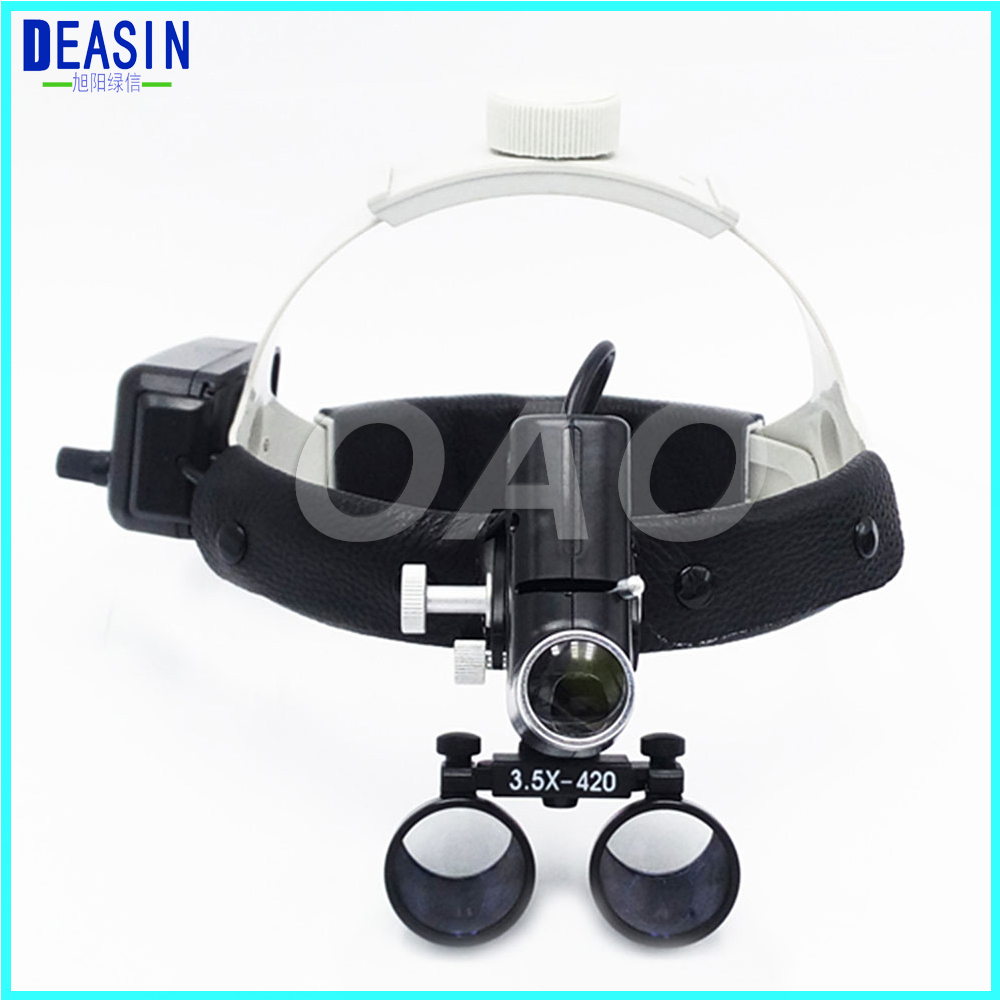 Operation lamp surgical headlight and Dental Loupes 3.5X Medical Magnifier All in Ones hot sale 2 5x medical magnifier all in ones operation lamp surgical headlight and dental loupes