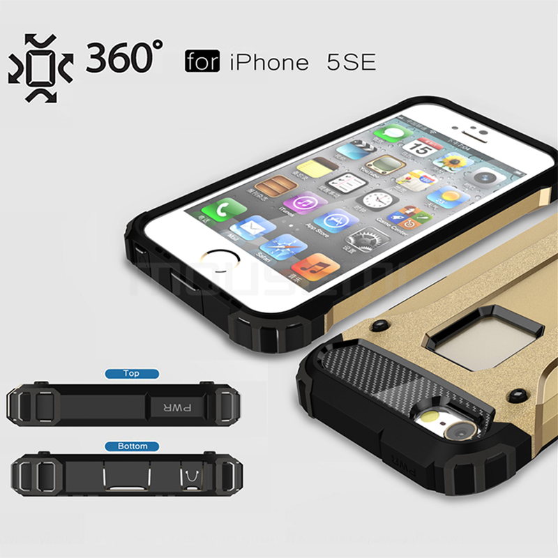 iPhone 5s Case Silicone Luxury Shockproof Case Cover 3
