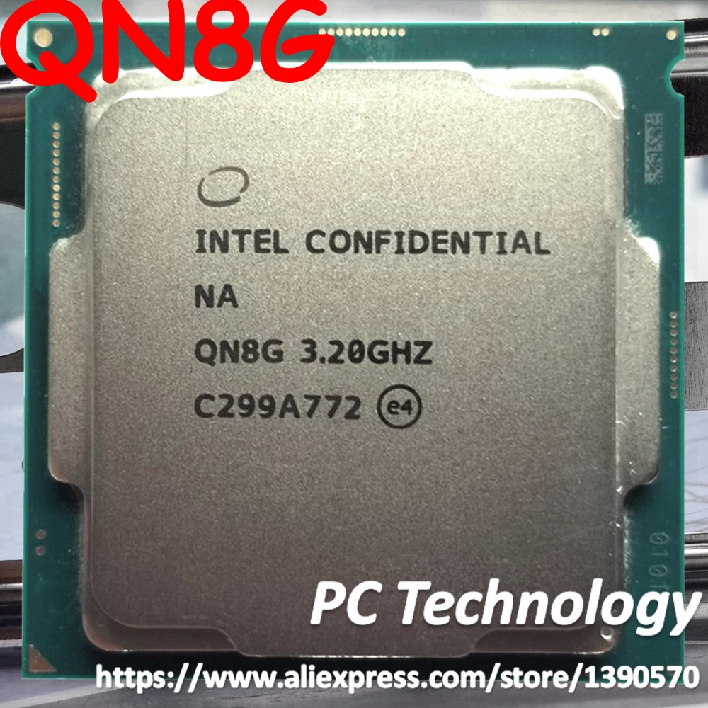 Intel core processor i7 8700K ES version CPU QN8G 3 2Ghz 6 core i7 8700K can