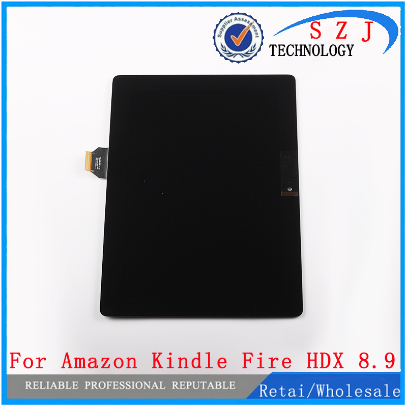 New case For Amazon Kindle Fire HDX 8.9 New LCD Display + Touch Screen Digitizer Assembly TTM89H88 V1.0 90 pins free shipping for amazon kindle fire hdx hdx7 7 0 lcd display touch screen digitizer assembly