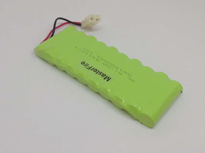 2PCS/LOT Brand New 12V 1800MAH AA Ni-MH Rechargable Battery Batteries Pack Free Shipping