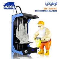 larger 3D printing size WANHAO dupalicator 5S model with build size 300*200*600mm use 3.0mm filament