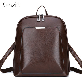 b8dd3c2f2dfd Винтажный рюкзак женский брендовый кожаный женский рюкзак большой емкости  школьная сумка для девочек сумка на плечо