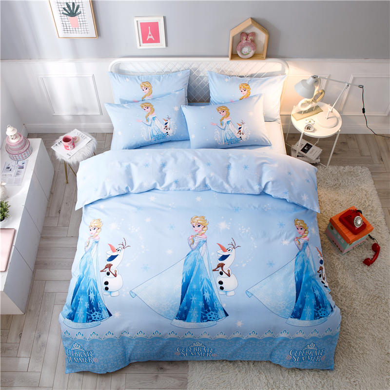 disney elsa princess duvet cover set girl bedroom decor comforter set single full twin quee szie bedding set 3d cotton bed linesdisney elsa princess duvet cover set girl bedroom decor comforter set single full twin quee szie bedding set 3d cotton bed lines