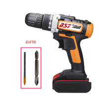 Two Speed Battery Indicator 21V Lithium ion  Cordless Drill Electric Screwdriver Driver Wrench Power Tools|Electric Drills| |  -