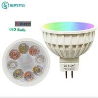 DC12V 2 4G Wireless Milight Dimmable Led Bulb MR16 RGB CCT Led Spotlight Smart Led Lamp