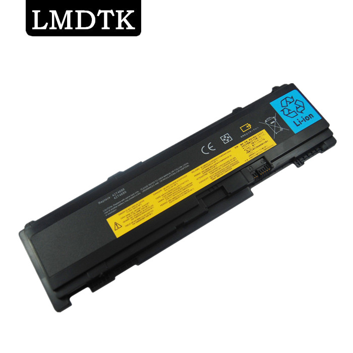 LMDTK NOUVEAU 6 CELLULES Batterie D'ORDINATEUR PORTABLE pour Lenovo T400S T410S T410si 51J0497 42T4690 42T4691 42T4688 42T4689 Livraison gratuite