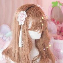 Принцесса сладкий лолита Шерсть Волосы группы Повезло Кристалл жемчужина плюшевые F01
