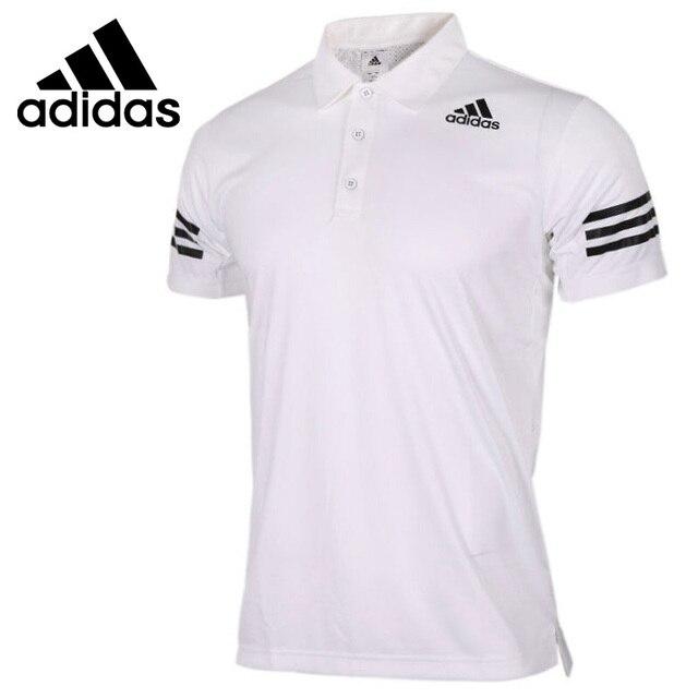 e86aadd97ad Nova Chegada Original Adidas Climacool exercício dos homens POLO de manga  curta Sportswear