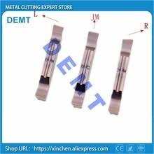 Insertos de corte de ranura de molienda fina, MGGN150/MGGN200/MGGN250/MGGN300/MGGN400/cortador de hoja de aleación dura de carburo para acero inoxidable