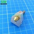 Комплект hotend для 3D-принтера  тепловая баррель  нагревательный блок  насадка 0 4 мм для репликатора  3D-принтер 1 75 мм