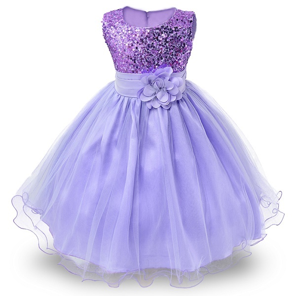 Kid Girl Clothes Summer Flower Lace Girls Wedding Pageant Party Dresses Princess Formal Prom Gowns Size 3-14 Years teenager