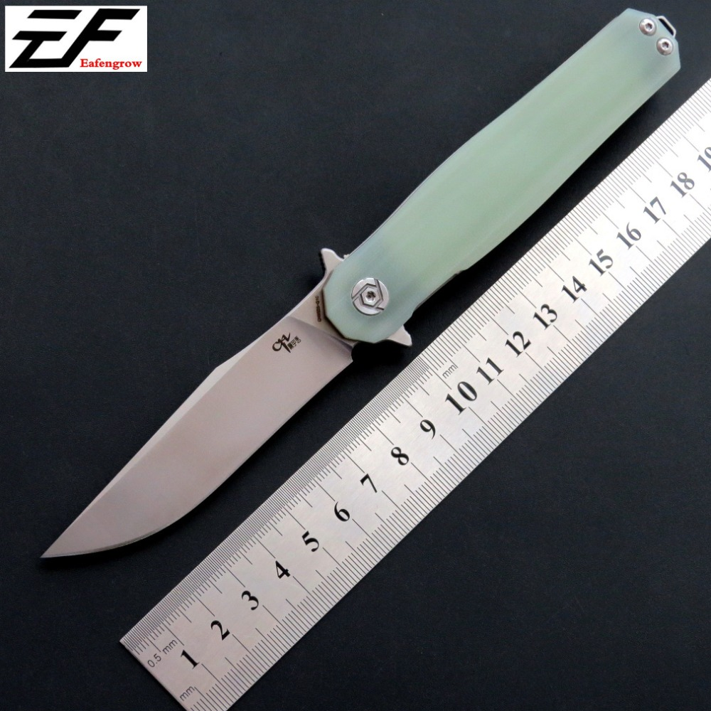 Eafengrow CH3505 Folding Pocket Knife D2 Steel Blade G10 Handle camping hunting knife EDC Outdoor Tool Hand Tool knives ch ch3504 g10flippe original folding knife d2 blade ball bearing g10 steel handle hunting knife outdoor survival knife edc