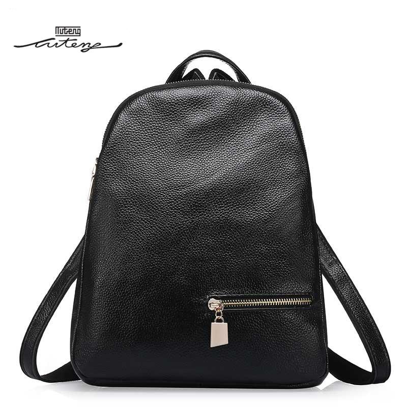 TU-TENG Fashion Women Classic Style Backpack Designer Brand Luxury Genuine Leather Bags Backpacks Women Famous Brands G86170B women s classic backpack