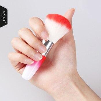 Azure Beauty pędzle do paznokci UV paznokcie żelowe artystyczny manicure akcesoria do pielęgnacji delikatne i miękkie narzędzia do paznokci używane do czyszczenie paznokci