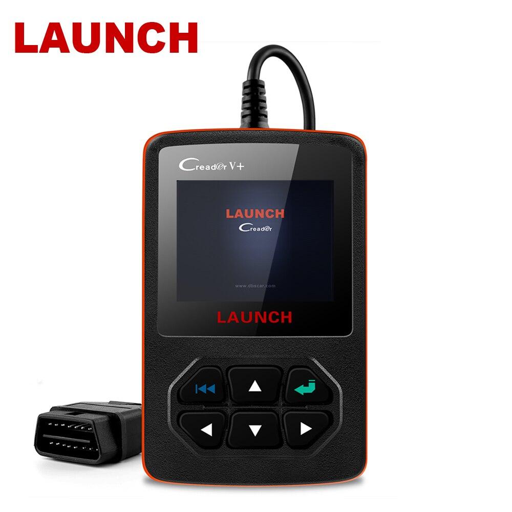 Lançamento Creader V + OBD2 X431 Auto Ferramentas de Leitura de Código de Falha do Scanner Em Russo ODB2 2 OBD Ferramenta de Diagnóstico OBD scanner automotivo