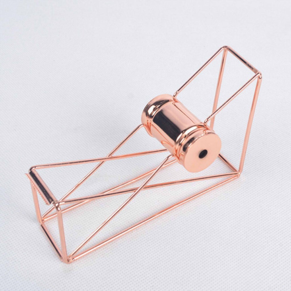 High quality rose gold Tape Cutter Washi Tape Storage Organizer Cutter Stationery Office Tape Dispenser Office Supplies high capacity japanese masking tape storage cutter multi rolls round washi tape storage organizer cutter office supplies