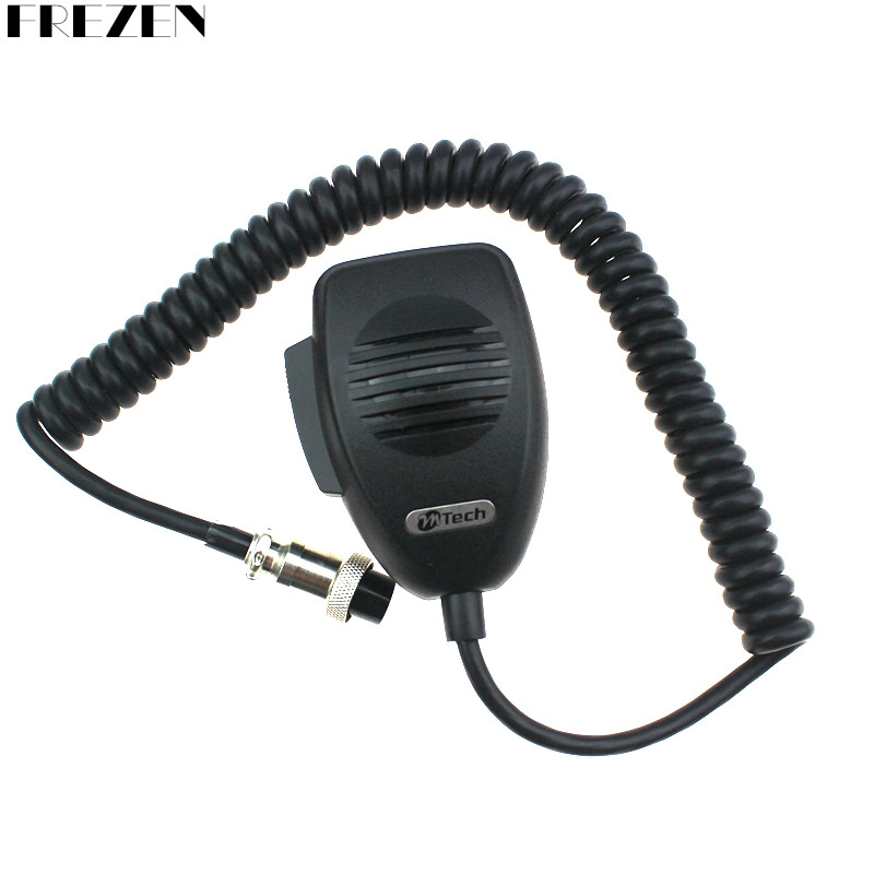 CB-12 Microphone 4 Pin Connector Ham Mic Mobile Radio Speaker For Cobra Uniden Galaxy Car CB Radio Two Way Radios