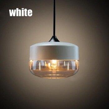 빈티지 로프트 산업 미국 국가 광택 유리 에디슨 펜던트 램프 주방 식사 거실 현대 홈 장식 조명