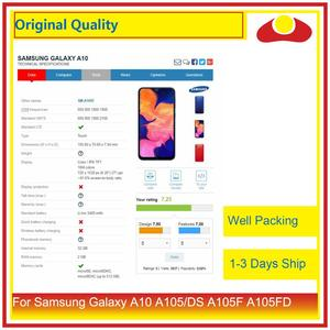 """Image 3 - ORIGINAL 6.2"""" For Samsung Galaxy A10 A105 A105F SM A105F LCD Display With Touch Screen Digitizer Panel Pantalla Complete"""